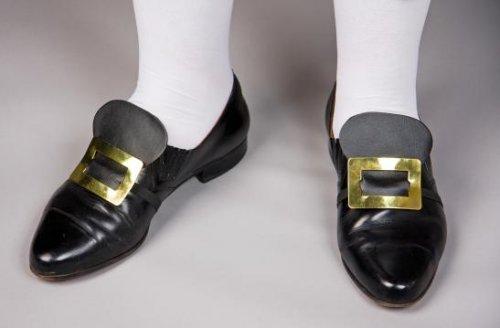 Schuhschnallen am elastischen Band
