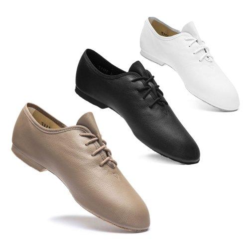 Jazz-Schuh Basic I, schwarz oder weiß
