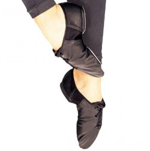 Gymnastikschuh JS3C TIVOLI,  Leinen Schwarz, Weiß oder Hautfarbe
