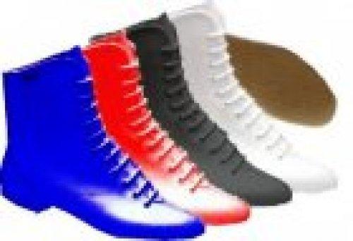 Gardestiefel Bleyer 9430, weiß, schwarz, dunkelblau oder rot