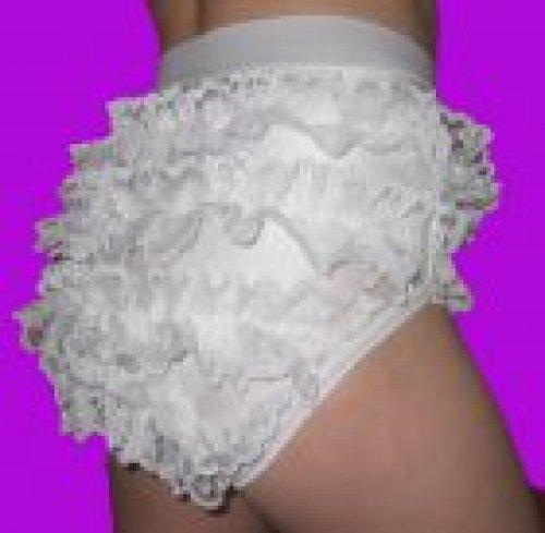 Garde-Spitzenhöschen für Mädchen, Farbe weiß