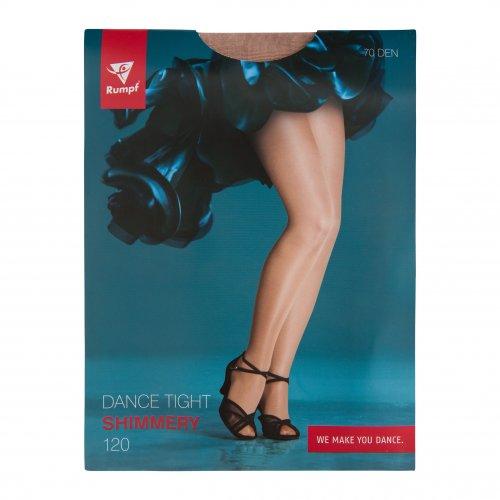 Rumpf Tanzstrumpfhose 120 Shimmery 70den