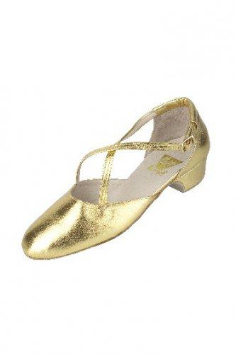 Tanzschuhe Broadway 2021, 3 cm Absatz, silber oder gold