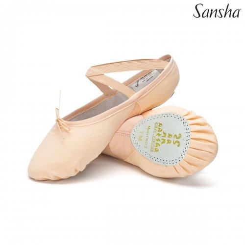 Silhouette 3C Sansha Ballettschläppchen