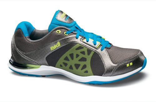 EXERTION R-1838W grey/turquoise/lime