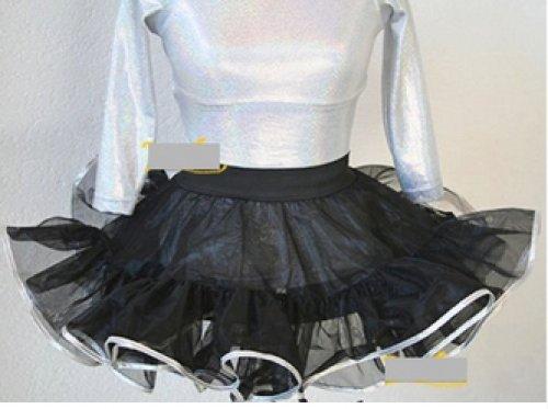 Petticoat 2-stufig / 2-lagig, Länge 25 cm