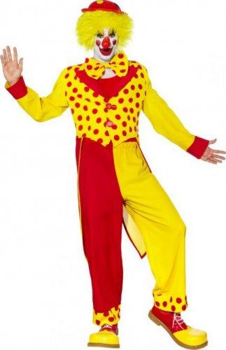 Clown, rot-gelb