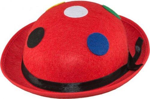 Melone, rot mit Punkten