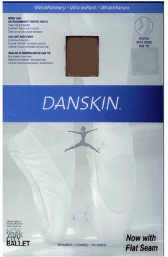 DANSKIN 4013 Strumpfhose ultra Shimmery Übergrößen