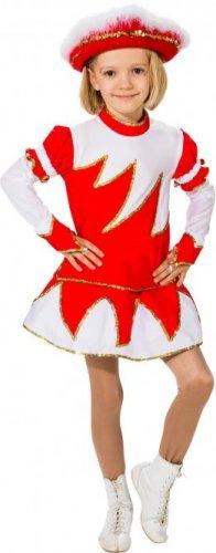 Gardekostüm Marie für Mädchen, Rot-Weiß