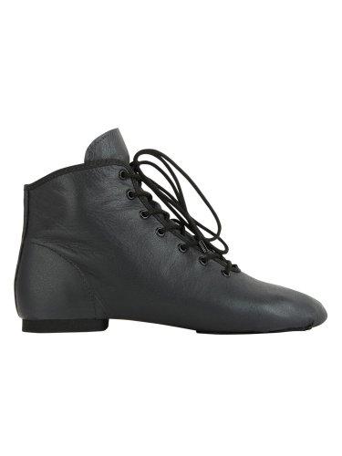 Tanzstiefel 4126 Rumpf geteilte Chromledersohle (schwarz)